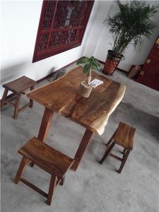核桃木无漆桌