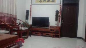 中式实木电视柜